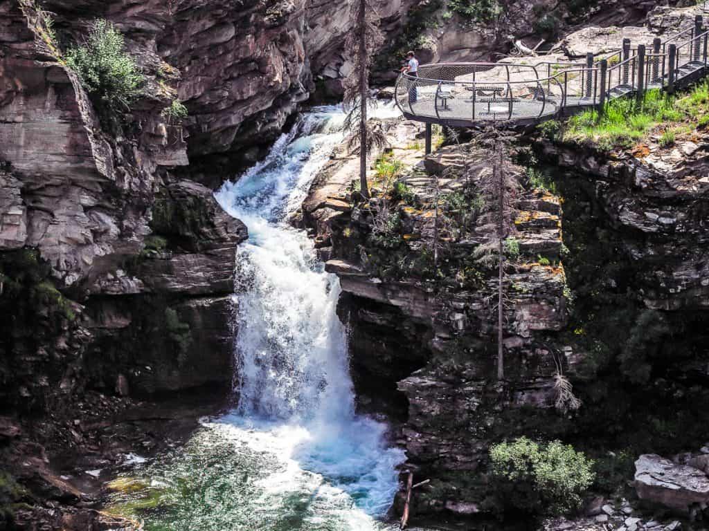 Candada - Alberta - Waterton Lakes National Park - Blakiston Falls