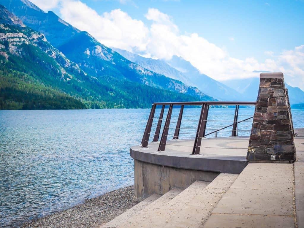 Candada - Alberta - Waterton Lakes National Park - Waterton-Glacier International Peace Park