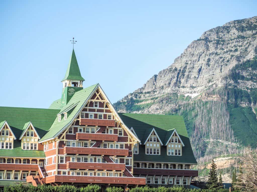 Candada - Alberta - Waterton Lakes National Park - The Prince of Wales Hotel
