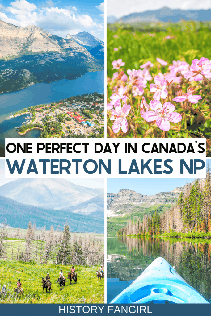 One Perfect Day in Waterton Lakes National Park Itinerary & Travel Tips